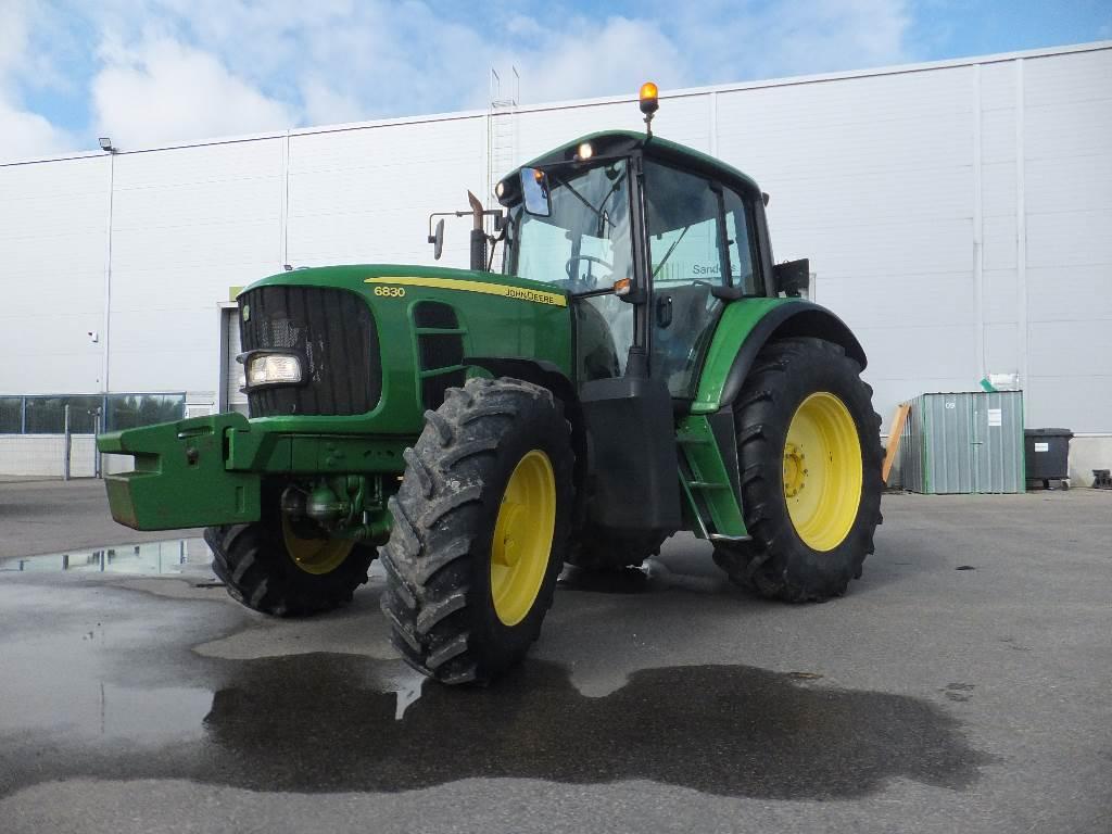 John Deere 6830 TLS, Traktoriai, Žemės ūkis