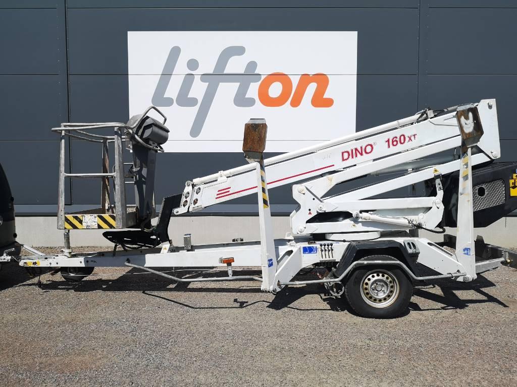 Dino 160 XT, Skylift, Entreprenad