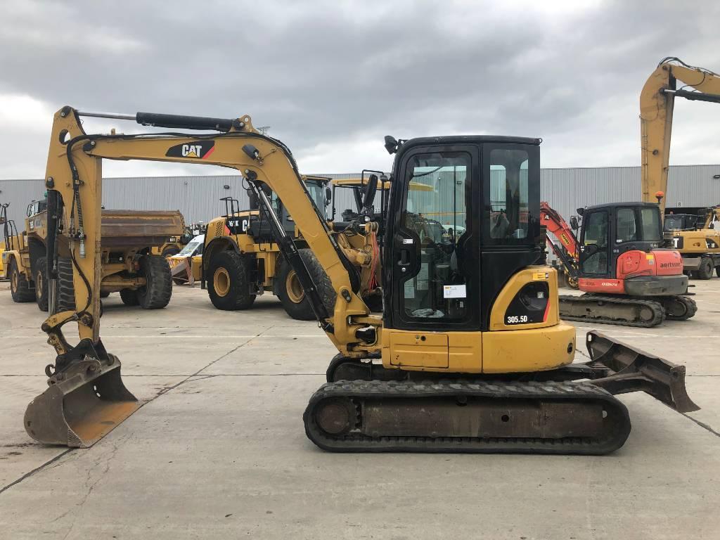 Caterpillar 305.5 D CR, Mini excavators < 7t (Mini diggers), Construction