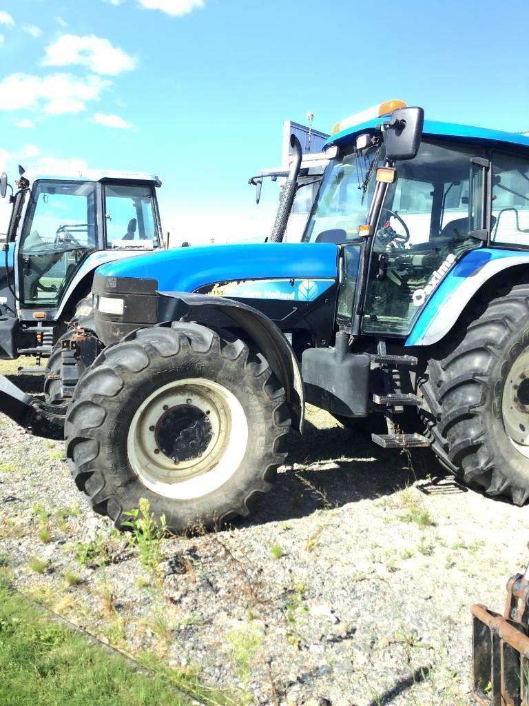 New Holland TM155, Traktorer, Lantbruk