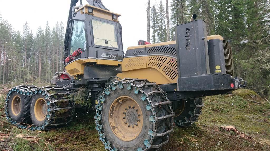 Eco Log 580D, Skördare, Skogsmaskiner