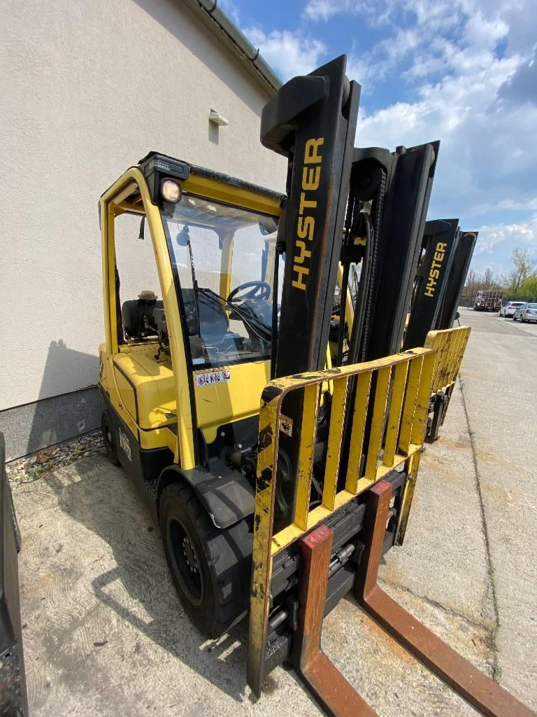 Hyster H 3.0 FT, LPG counterbalance Forklifts, Material Handling