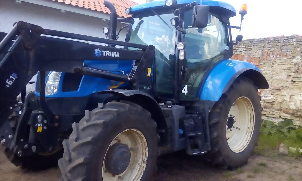 New Holland T6.175 EC, Сельскохозяйственные тракторы, Сельхозтехника