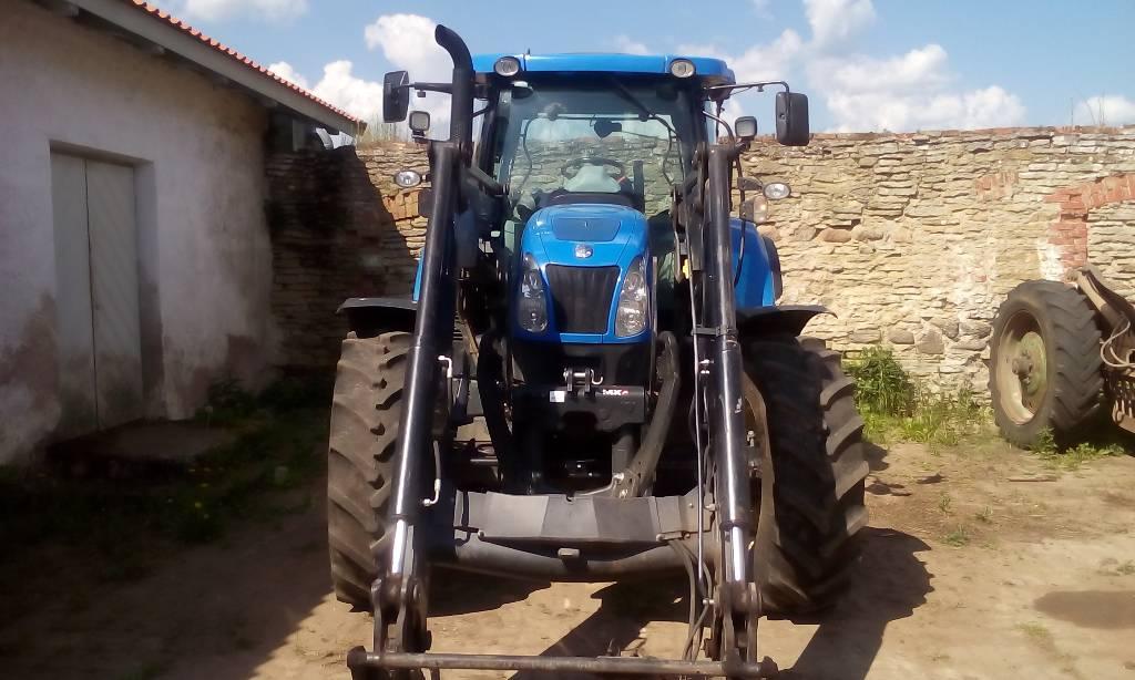 New Holland T6.175 EC, Traktorid, Põllumajandus