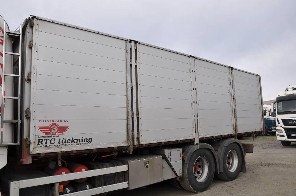 ORY Flak  med RTC täckning, Boxar, Transportfordon