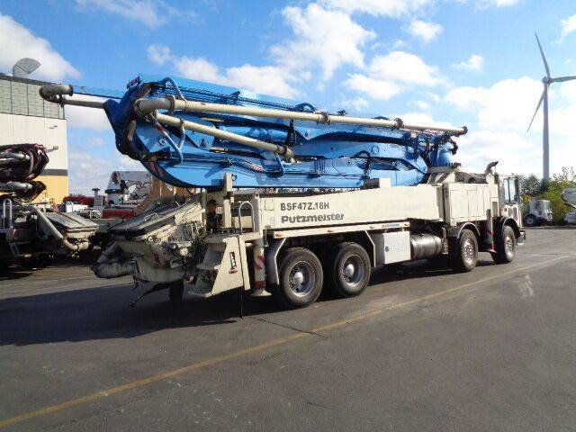 Putzmeister BSF 47.16H, Boom Pumps, Construction Equipment