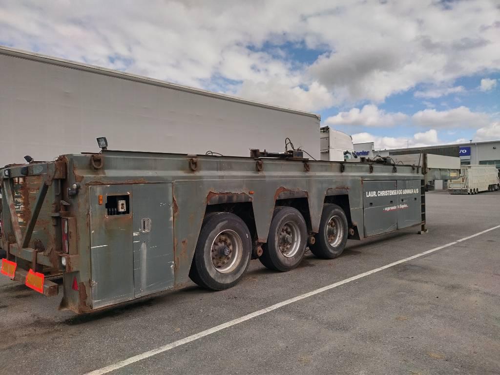 Faymonville allasvaunu,9,5m kehto, Muut puoliperävaunut, Kuljetuskalusto