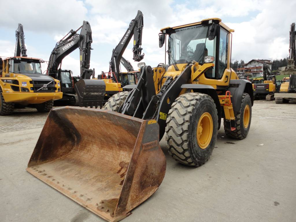 Volvo L60H, Wheel loaders, Construction