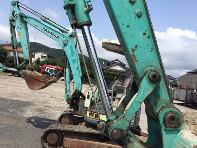 Yanmar ViO40-5, Midi excavators  7t - 12t, Construction