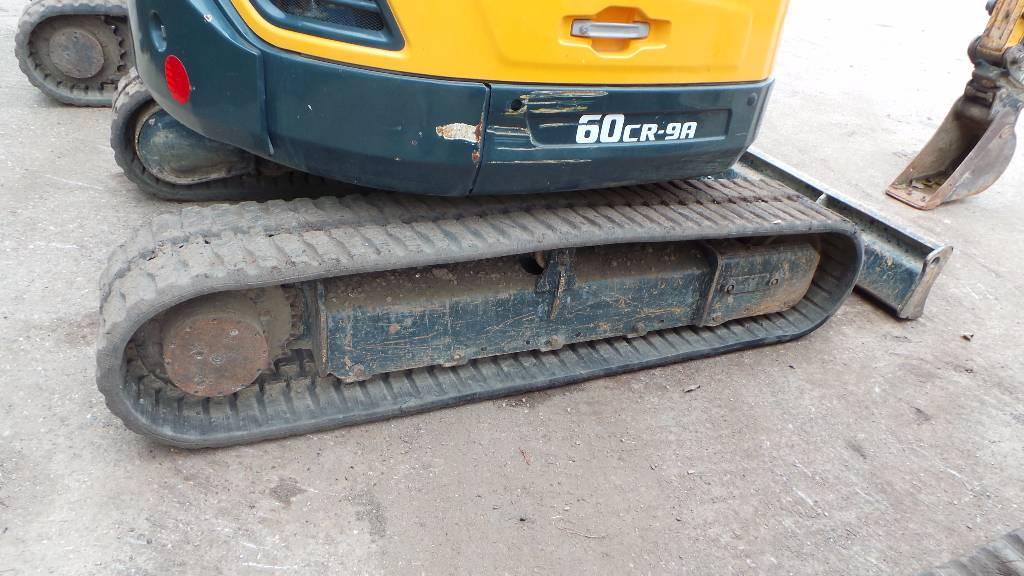 Hyundai Robex 60 CR-9, Mini excavators < 7t (Mini diggers), Construction