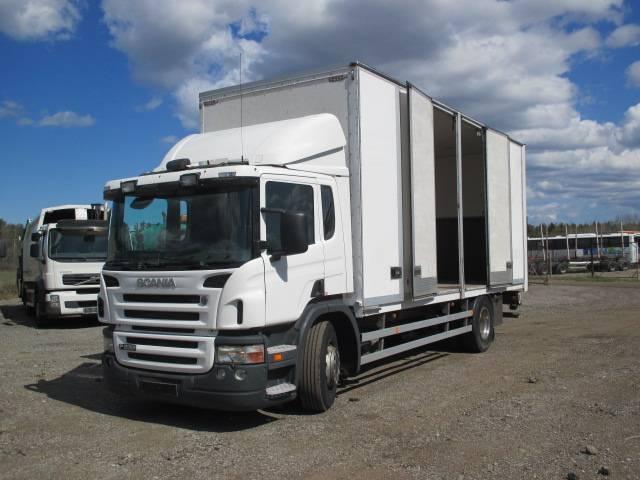 Scania P230 DB4X2, Box trucks, Trucks and Trailers