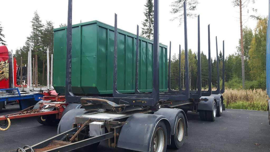 Weckman jatkettava 4 AVP 650, Puuperävaunut, Kuljetuskalusto