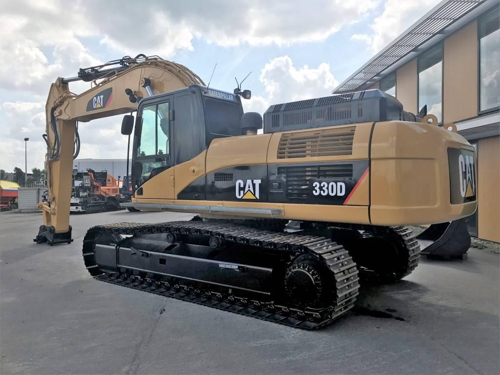 Caterpillar 330 D L, Crawler Excavators, Construction Equipment