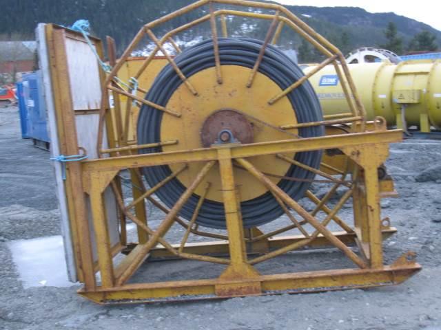 Brevini Kabeltrumma, hydrauldriven, Övrig gruvutrustning, Entreprenad