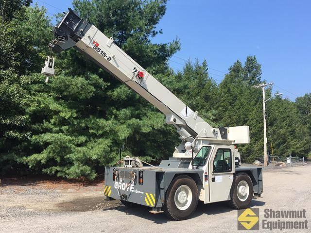 Grove YB5515-2, Crane Parts and Equipment, Construction Equipment