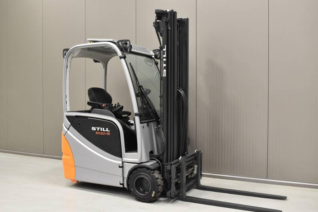 Still RX20-15, Elmotviktstruckar, Materialhantering