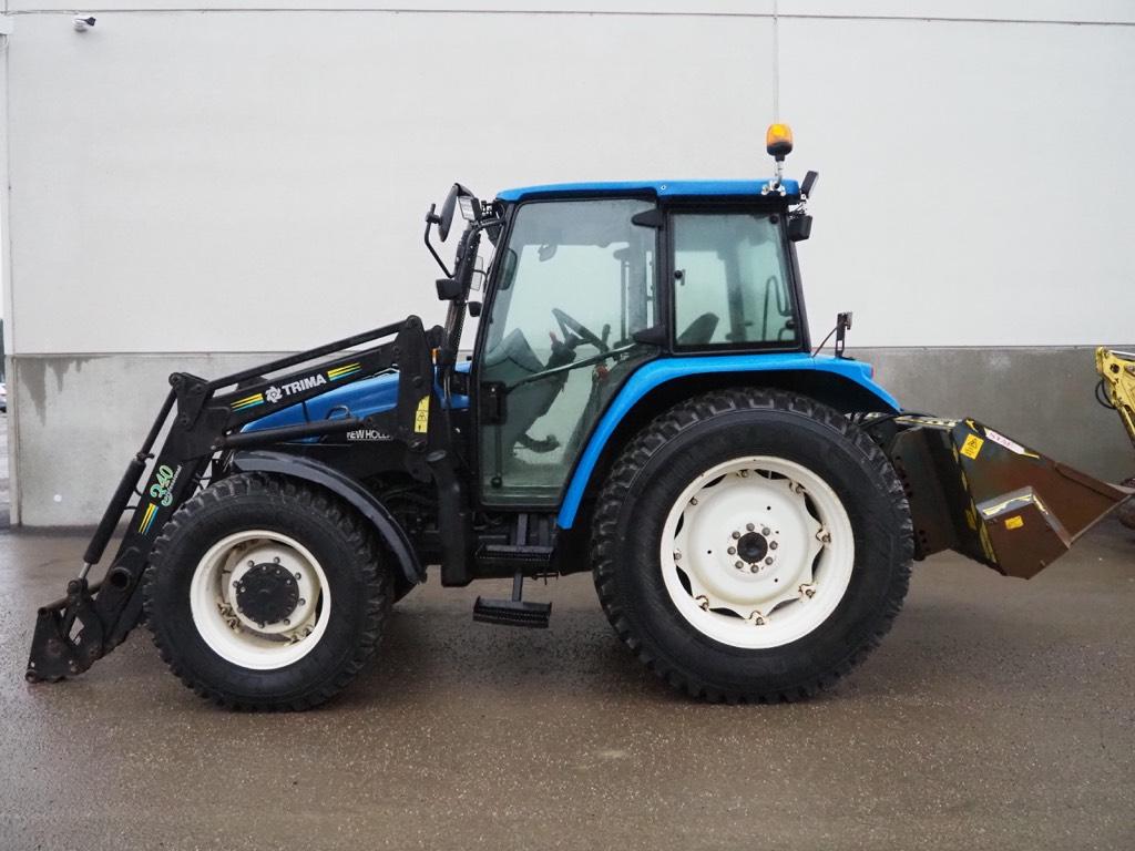 New Holland TL 90, Traktorit, Maatalous