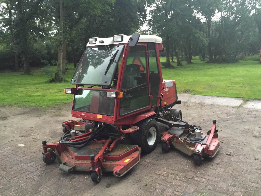 Used Toro Groundmaster 4000D lawn mowers Year: 2004 for sale - Mascus