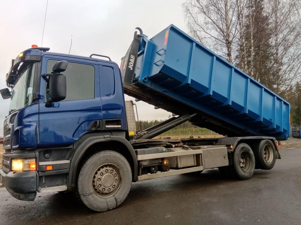 Scania P380 6x2 Joab koukkulaite,av4300mm, automaatti, Koukkulava kuorma-autot, Kuljetuskalusto