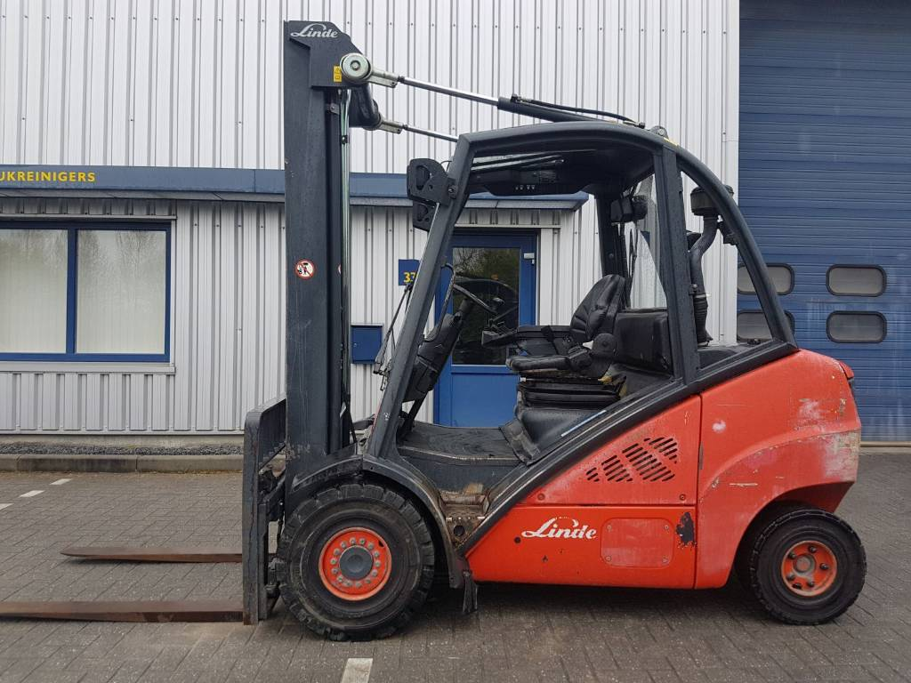 Linde H35D, Diesel heftrucks, Laden en lossen