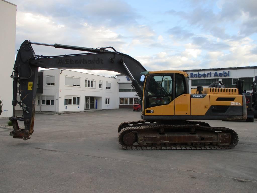 Volvo EC250DNL, Crawler Excavators, Construction Equipment