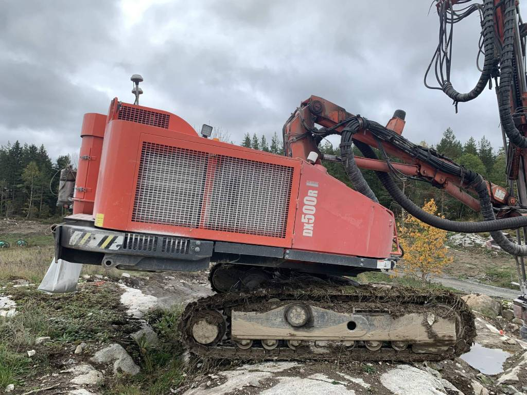 Sandvik DX 500R, Avolouhintaporauslaitteet, Maarakennus
