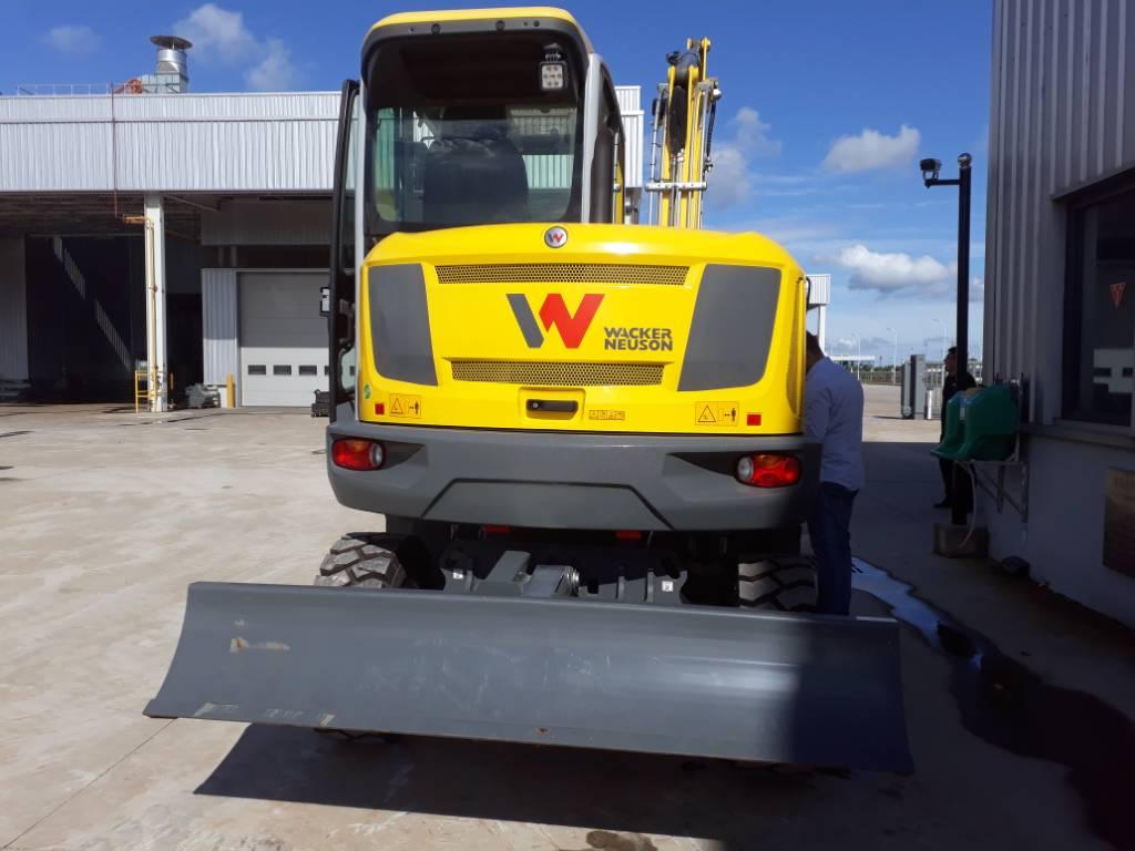 Wacker Neuson EW65, Wheel excavators, Products