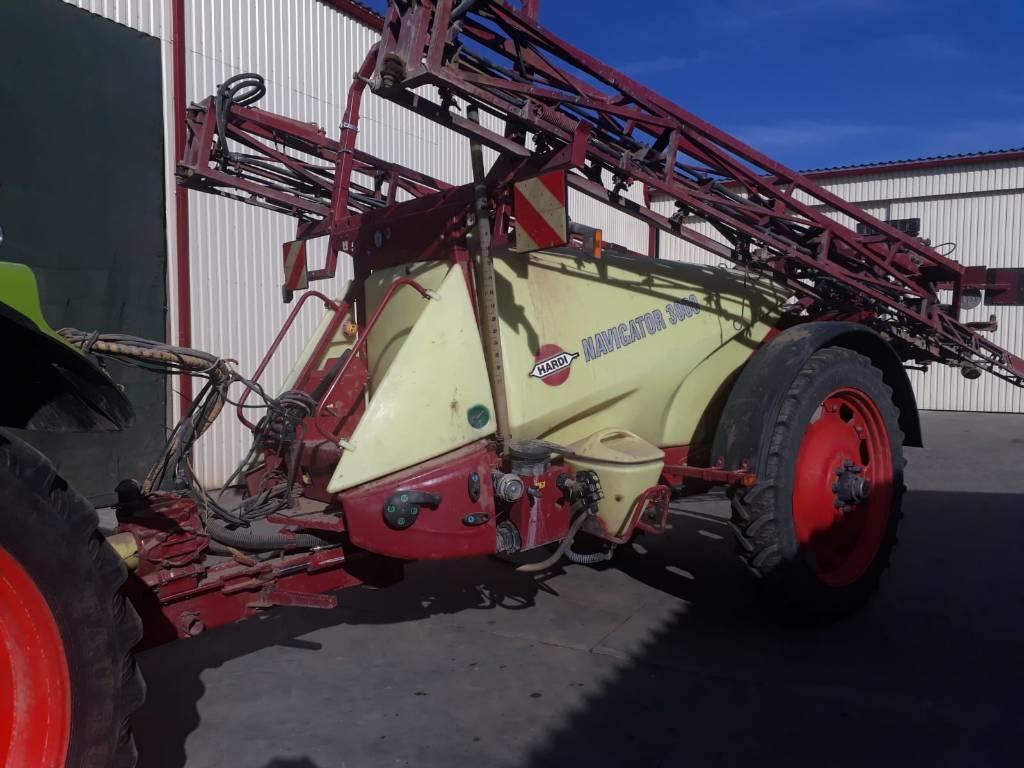 Hardi NAVIGATOR 3000, Haagispritsid, Põllumajandus