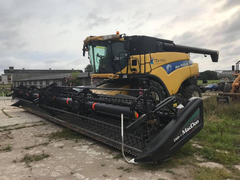 New Holland CR9080, Kombainid, Põllumajandus