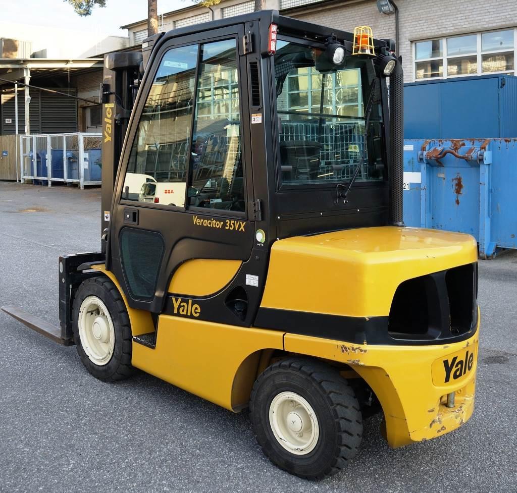 Yale GDP35VX, Dieseltrukit, Materiaalinkäsittely