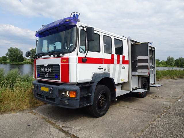 MAN 14-264 MA 4x4 Ziegler, Fire trucks, Transportation