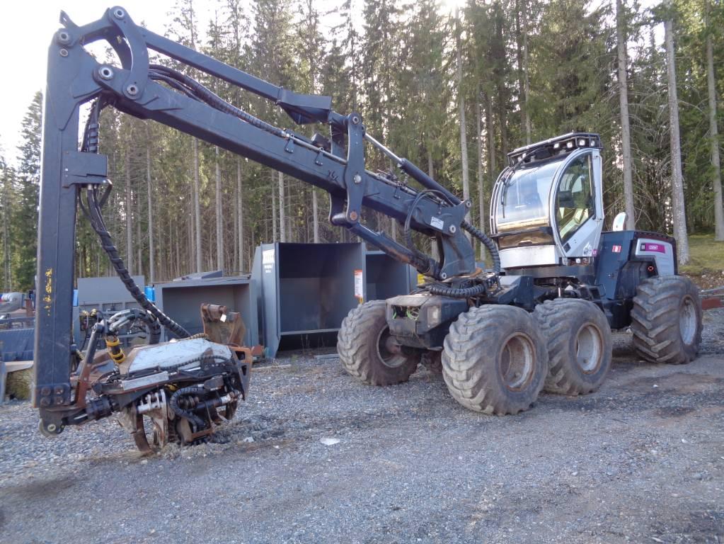 Logset 8H GT, Harvesterit, Metsäkoneet
