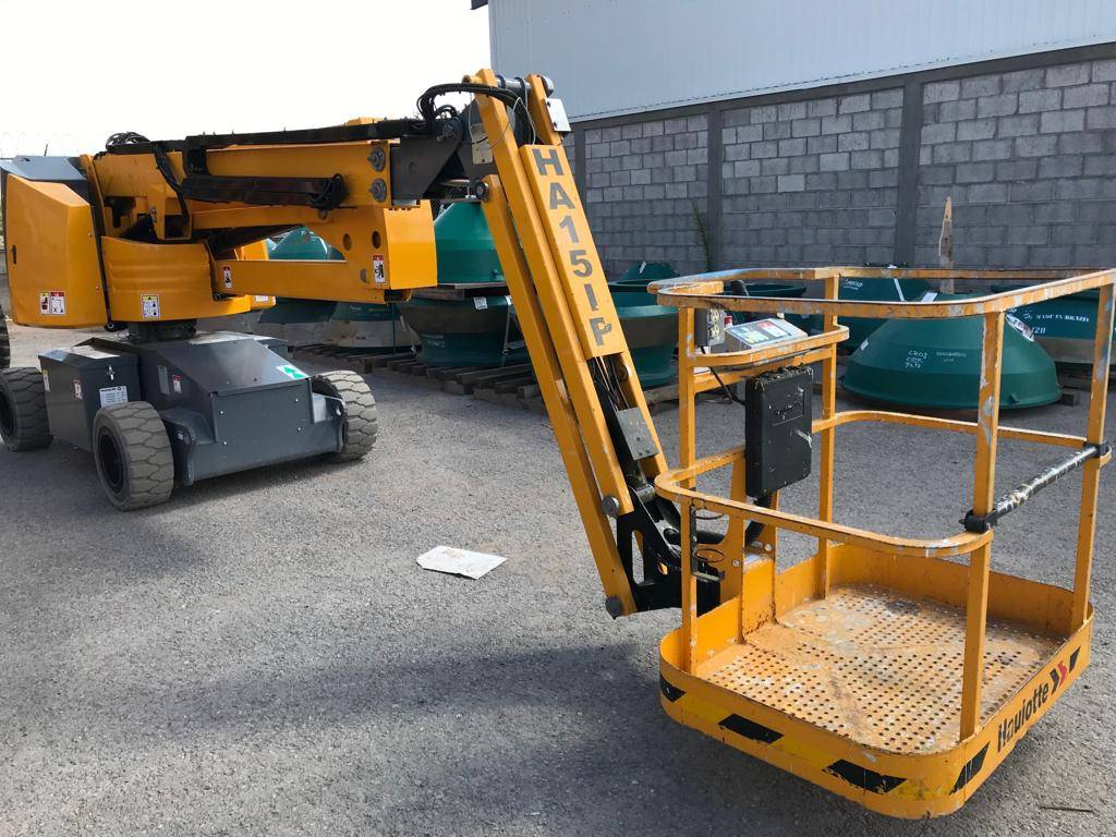 Haulotte HA15IP 049, Articulated boom lifts, Construction Equipment
