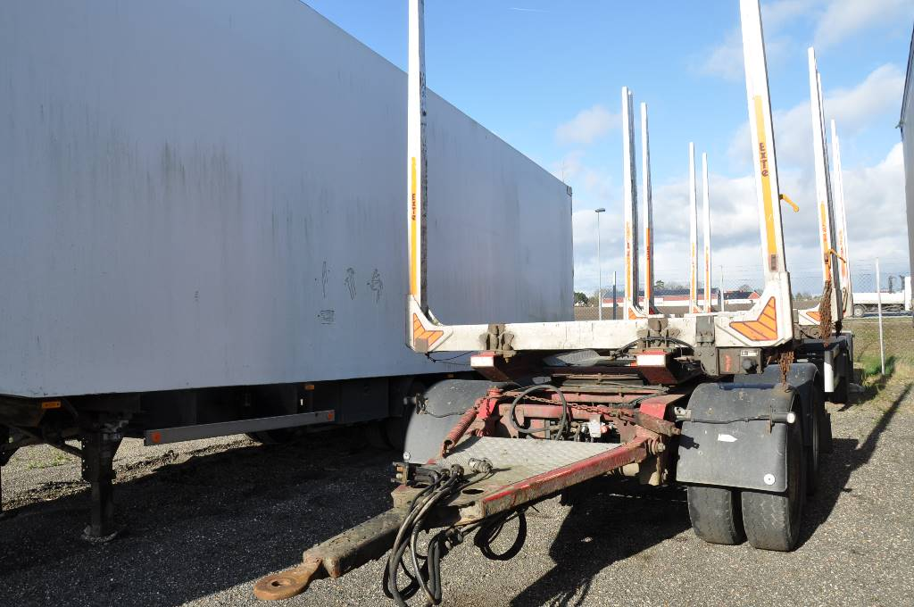 Mjölbysläpet VSP4-104-36, Timmersläp, Transportfordon