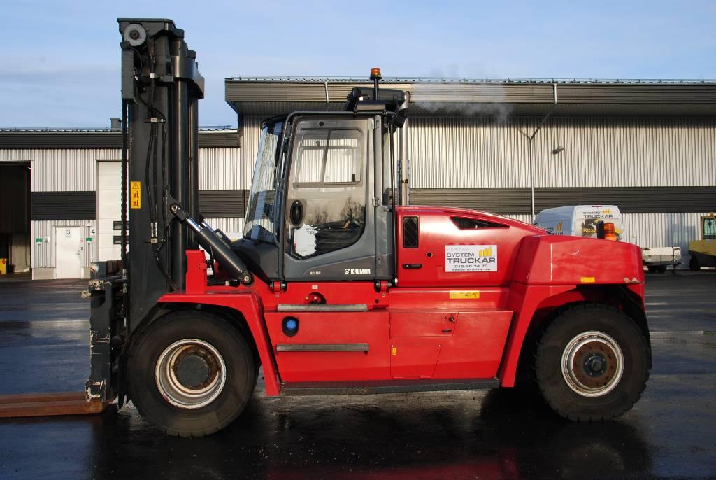 Kalmar DCG 160, Dieselmotviktstruckar, Materialhantering