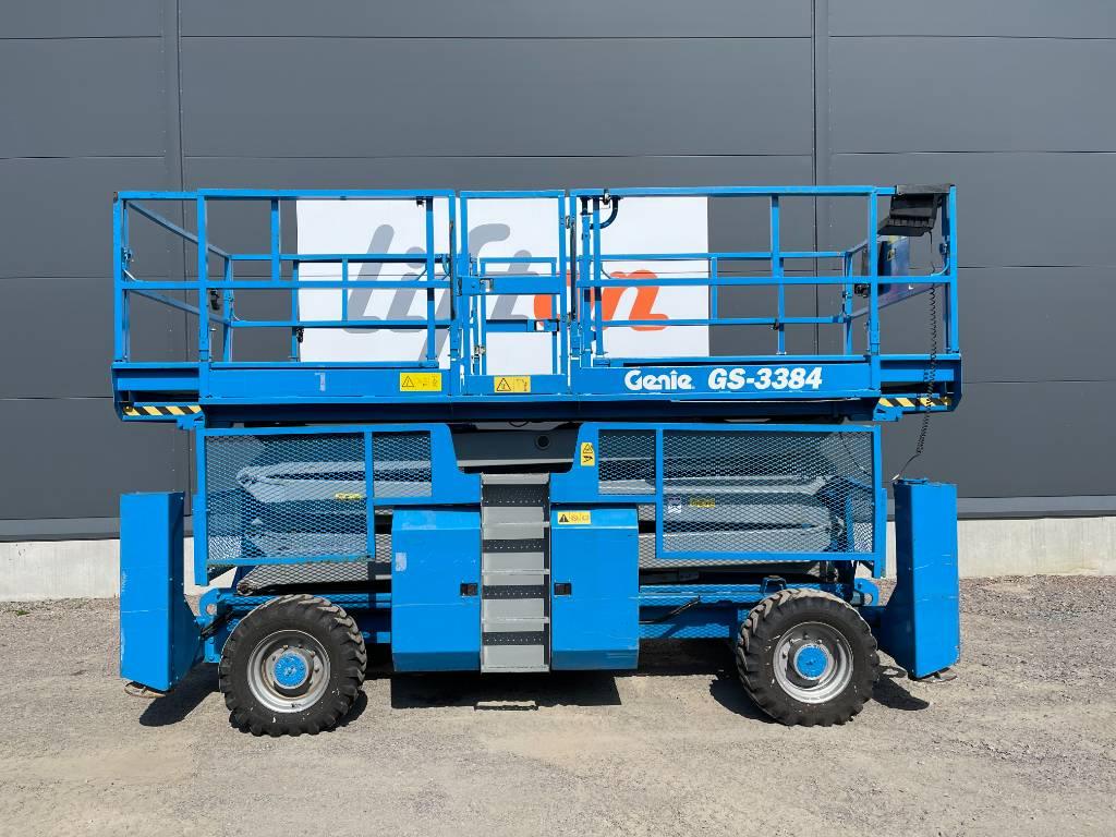 Genie GS 3384, Saxliftar, Entreprenad