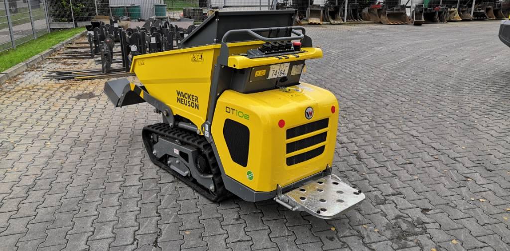 Wacker Neuson DT10e, Tracked Dumpers, Construction Equipment