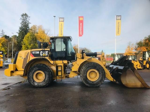Caterpillar 972 M XE, Hjullastare, Entreprenad