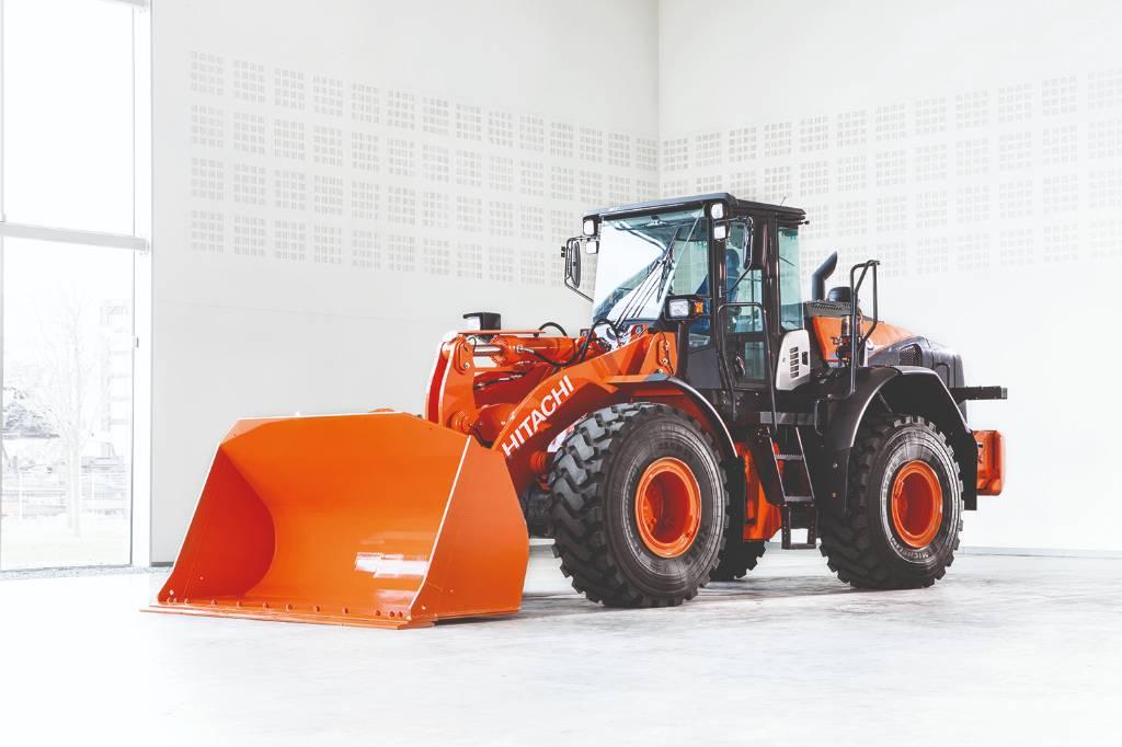 Hitachi ZW 220-6, Hjullastare, Entreprenad