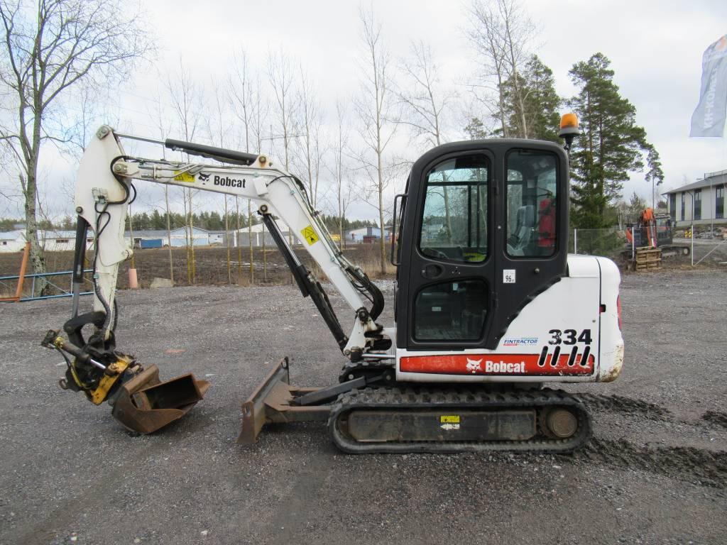 Bobcat 334 G, Minikaivukoneet < 7t, Maarakennus