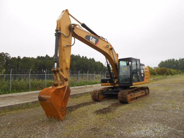 Caterpillar 320E-2, Crawler excavators, Construction