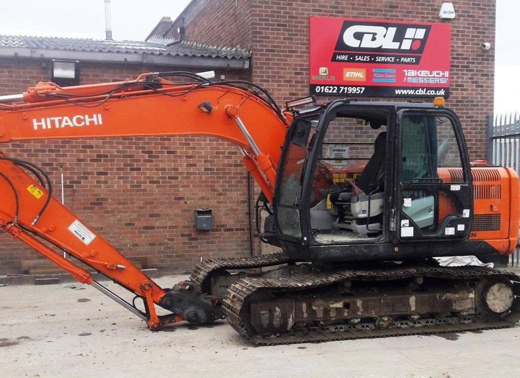 Hitachi ZX 130, Crawler excavators, Construction