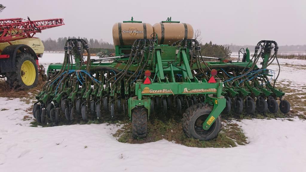 Great Plains 607, Täppiskülvikud, Põllumajandus