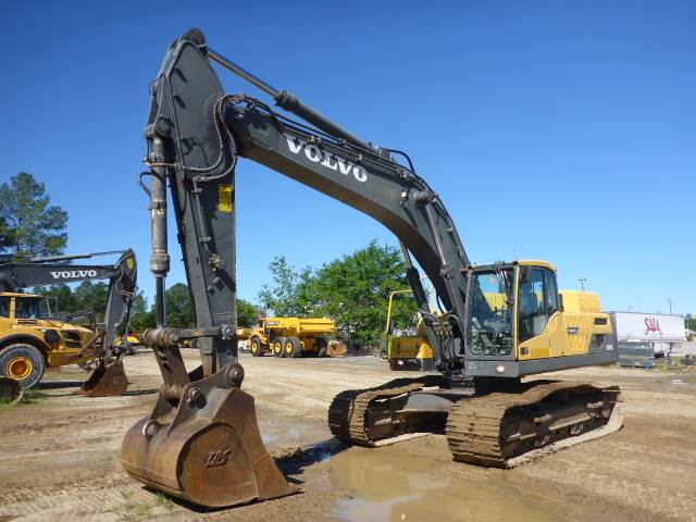 Volvo EC340DL, Crawler Excavators, Construction Equipment