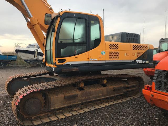 Hyundai Robex 330 LC-9 A, Crawler excavators, Construction