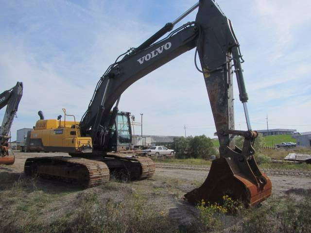 Volvo EC480DL, Crawler Excavators, Construction Equipment