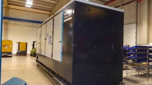 Atlas Copco QIS 1420, Diesel Generators, Construction