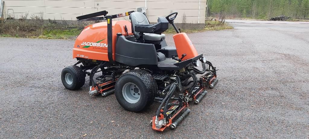 Jacobsen LF550 4WD, Väyläleikkuri, Ympäristökoneet