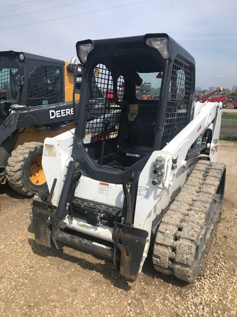 Bobcat T 550, Skid Steer Loaders, Construction