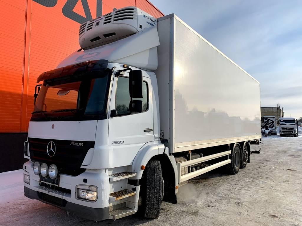 Mercedes-Benz 2533 6x2 Euro 4, Box trucks, Trucks and Trailers